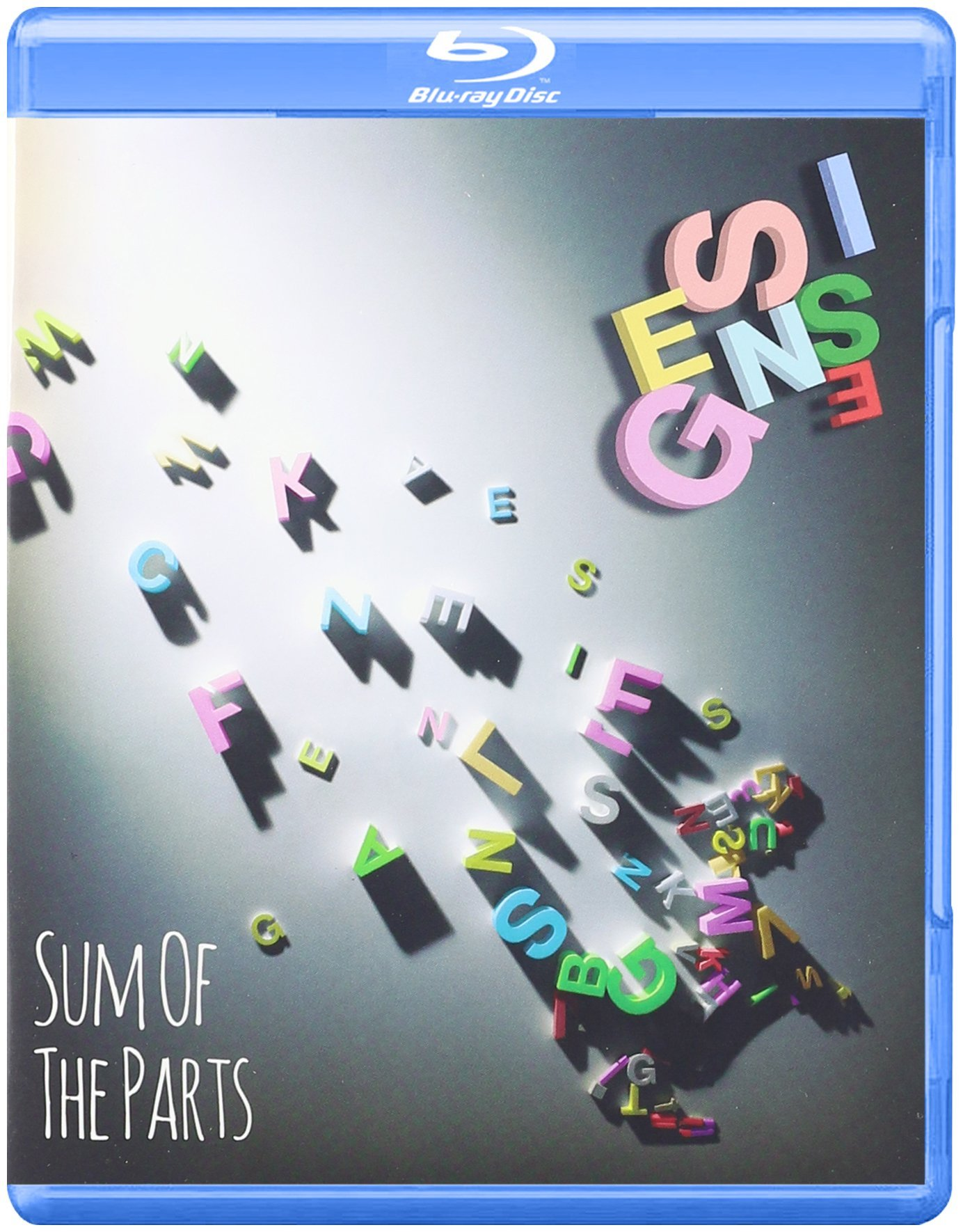 Blu-ray : Genesis - Sum of the Parts (Blu-ray)