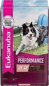 Eukanuba Premium Performance 21/13 Sprint Adult Dry Dog Food, 28 lb. Bag