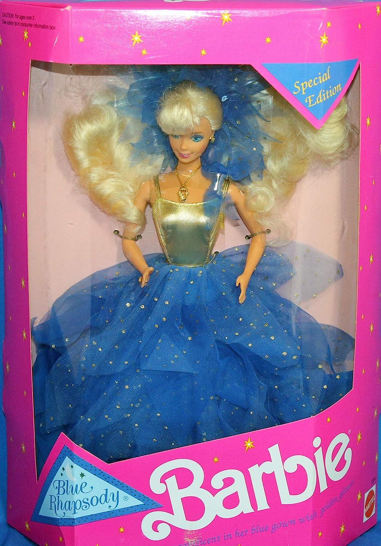1991 Barbie Popular overseas Blue Super intense SALE Rhapsody