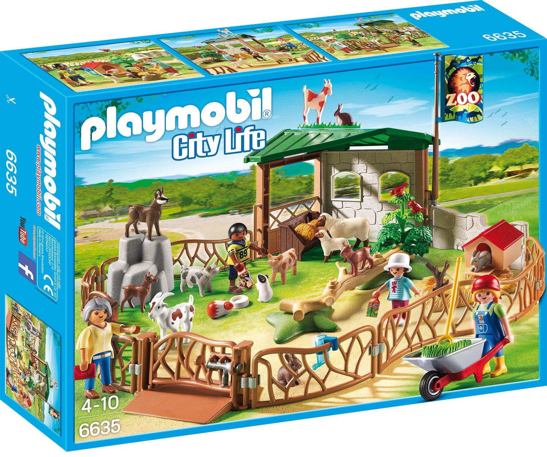 Playmobil 6635 - Streichelzoo B00O4E27YU Spielfiguren-Spielesets Abgabepreis | Moderater Preis