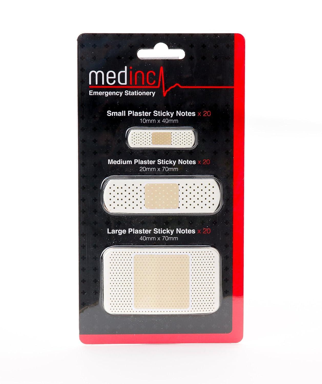 confezione contiene 3 x intonaco sticky note pastiglie ciascuno contiene 20 fogli