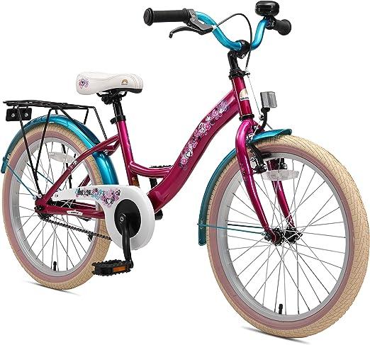 BIKESTAR Kinderfahrrad 24 Zoll f/ür M/ädchen und Jungen ab 9 Jahre Kinderrad Urban Jungle Fahrrad f/ür Kinder Risikofrei Testen