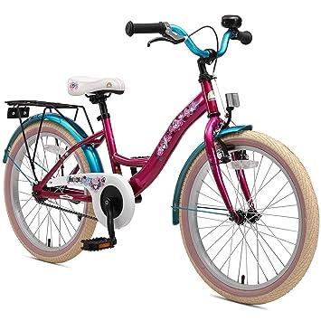 09e9b9e096d17 Bikestar Vélo Enfant pour Garcons et Filles de 6 Ans ☆ Bicyclette Enfant 20  Pouces Classique