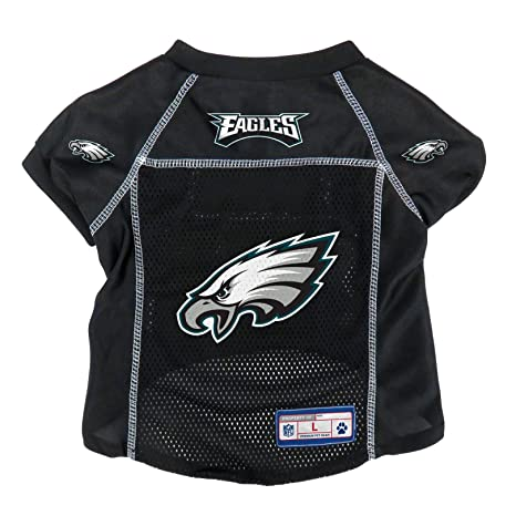 best loved bbd99 0497b Amazon.com : Littlearth NFL Philadelphia Eagles Pet Jersey ...