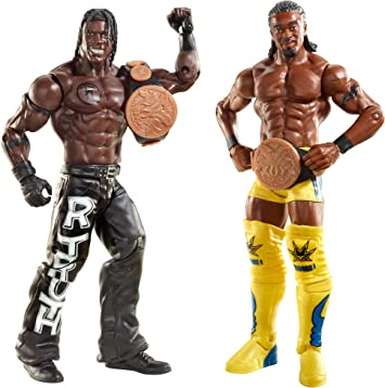 WWE Kofi Kingston & R-Truth Battlepack Figures: Amazon.es: Juguetes y juegos