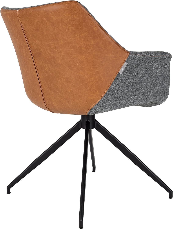 Zuiver Vintage Doulton Chaises Lot 2 Faux 1200119 de Cuir D29EHI