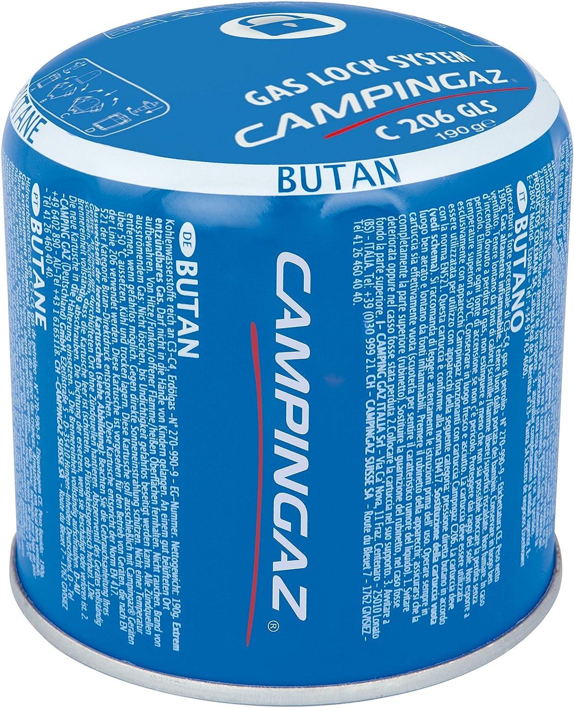 Campingaz C206 GLS - Cartucho De Gas Perforable, 190 gr