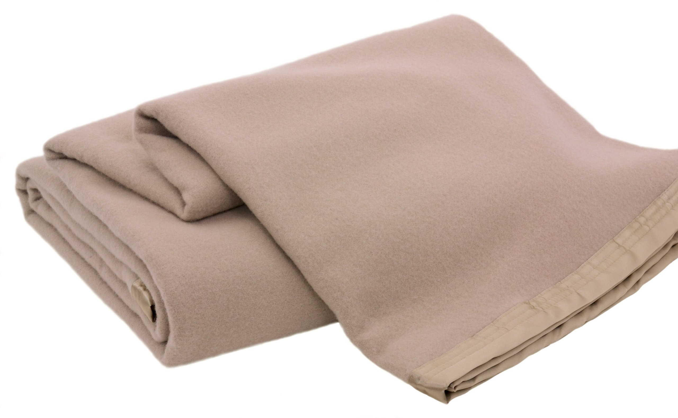 Creswick Luxurious All-Natural 100-Percent Australian Merino Wool Oversized Blanket, King Size, Sahara by Creswick Australian Mills