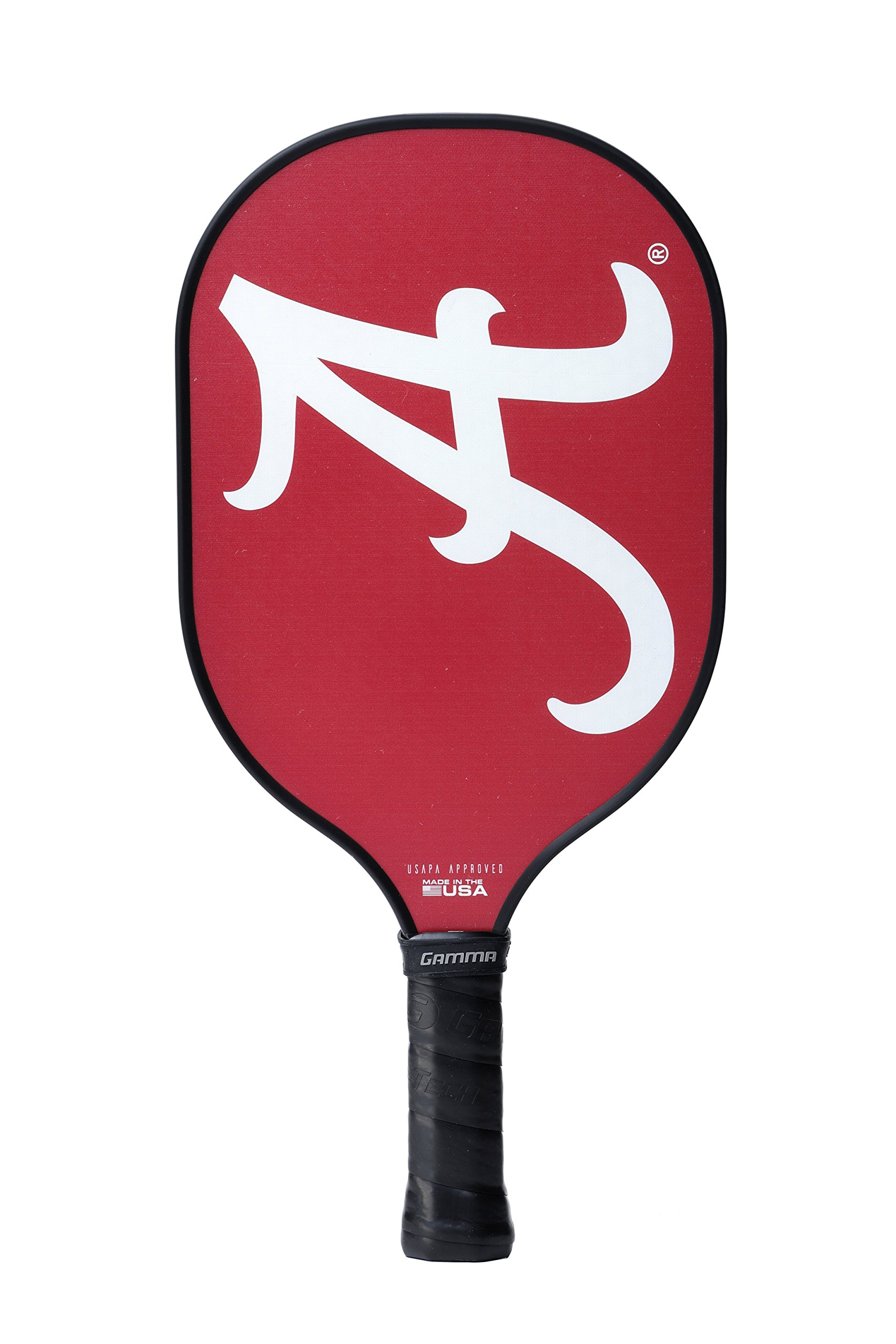 Gamma Collegiate Twister Composite Pickleball Paddle: Pickle Ball Paddles for Indoor & Outdoor Play - USAPA Approved Racquet for Adults & Kids - Alabama Crimson Tide by Gamma (Image #3)