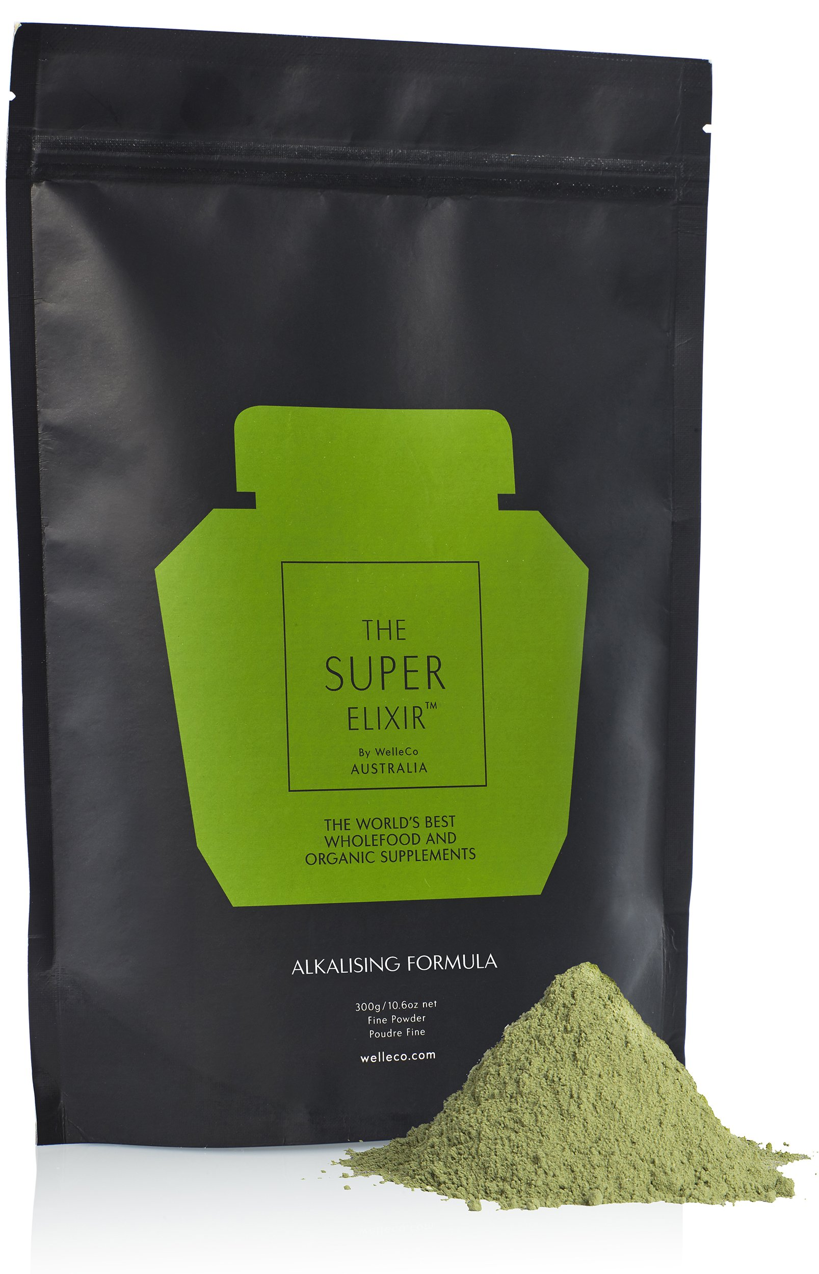WelleCo - All Natural Super Elixir Greens (300g Refill Pack) by WelleCo (Image #6)