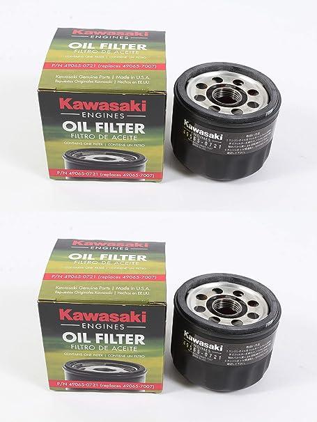 Amazon Com Kawasaki 49065 7007 Oil Filter 2 Pack Automotive
