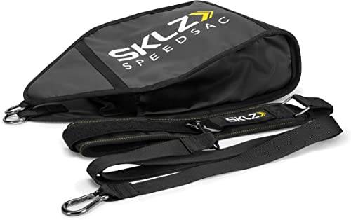 SKLZ Speedsac Adjustable Weight Sled Trainer for Sprinters 10-30 Pounds