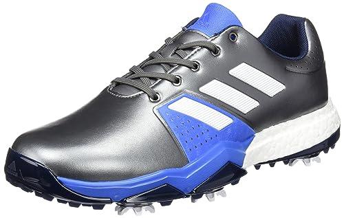 lowest price aad3d 498a8 adidas Adipower Boost 20 Scarpe di Allarga Larga per Uomo,  BiancoNeroArgento