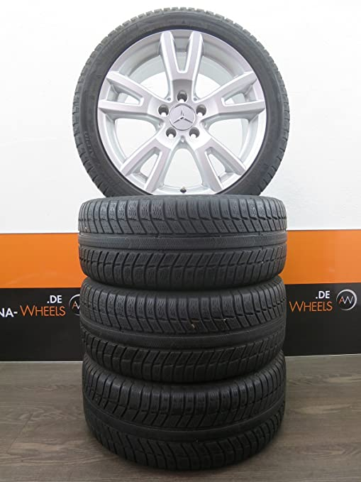 Original Mercedes Clase C W204 17 pulgadas Llantas Neumáticos de invierno ruedas Invierno 6 mm