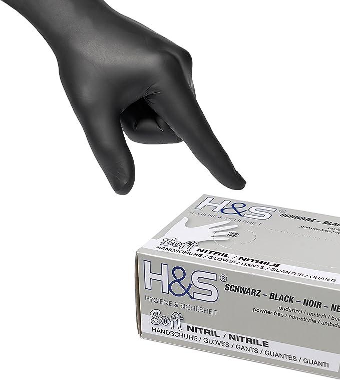 Taille XL, Blanc M/énage SF Gants jetables en nitrile boite de 200 gants examen bricolage cuisine alimentaire sans latex Tatoueur M/écanicien M/édical non poudr/és