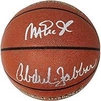 $329 » Kareem Abdul-Jabbar & Magic Johnson Signed Spalding NBA Indoor/Outdoor Basketball