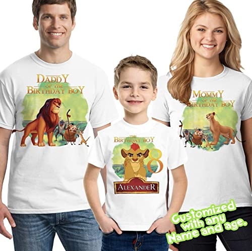 Birthday Boy 2 years LionKids Children Boys 2nd Birthday Printed T-Shirt Gift