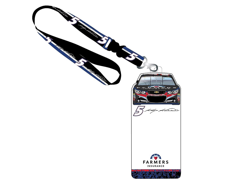 2a2e14dcb8efc Amazon.com: NASCAR #5 Kasey Kahne Credential Holder w/ Lanyard ...