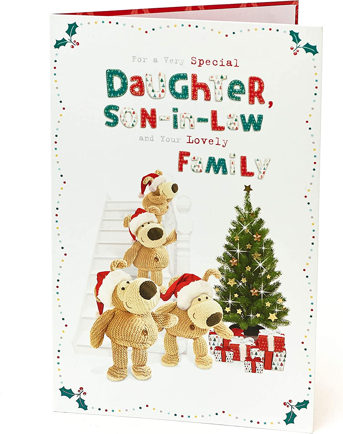 Christmas Card Daughter /& Family