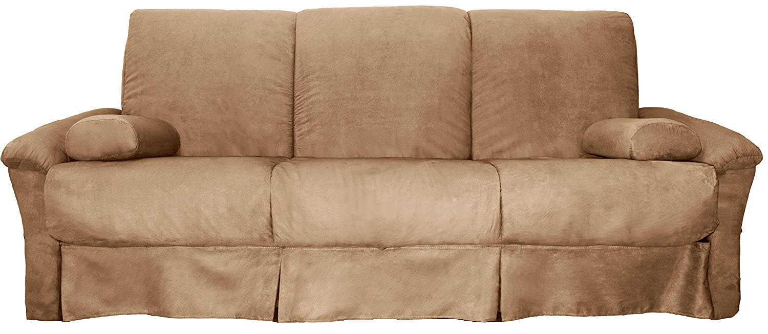 Merveilleux Amazon.com: Epic Furnishings Tango Perfect Sit U0026 Sleep Pocketed Coil Inner  Spring Pillow Top Sofa Sleeper Bed, Queen Size, Microfiber Suede Khaki ...