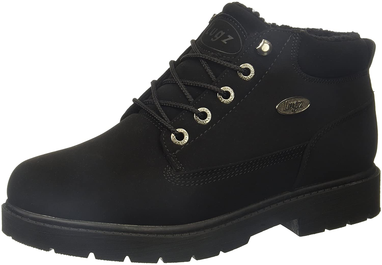 Lugz Women's Drifter Fleece LX Fashion Boot B073Q4RNBZ 7.5 B(M) US|Black Durabrush
