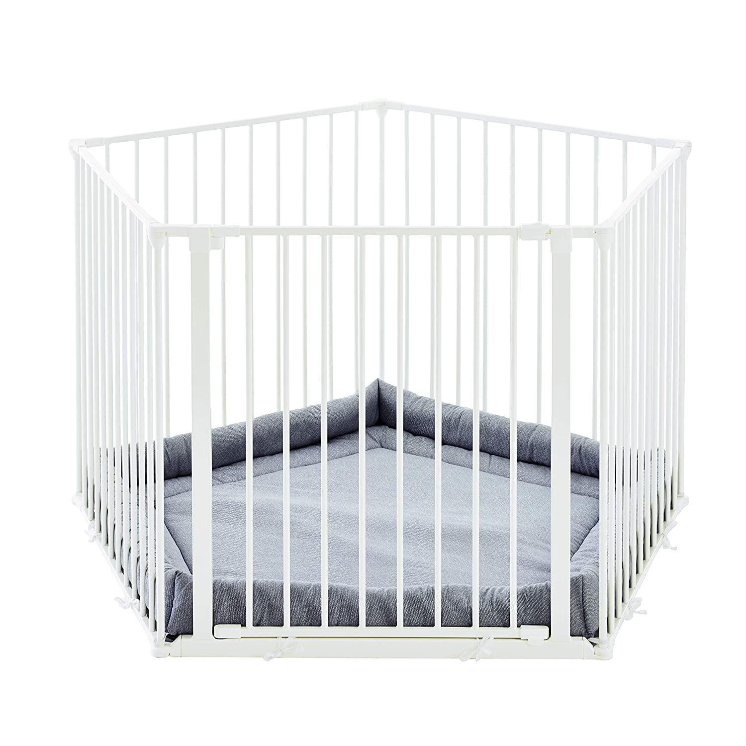 white Babydan Baby Playpen And Playmat Bright And Translucent In Appearance