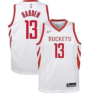 separation shoes ff368 2f525 Amazon.com : Nike James Harden Houston Rockets NBA Youth 8 ...