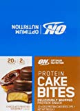 Optimum Nutrition Protein Cake Bites Chocolate Frosted Donut Box of 12 Protein Bars