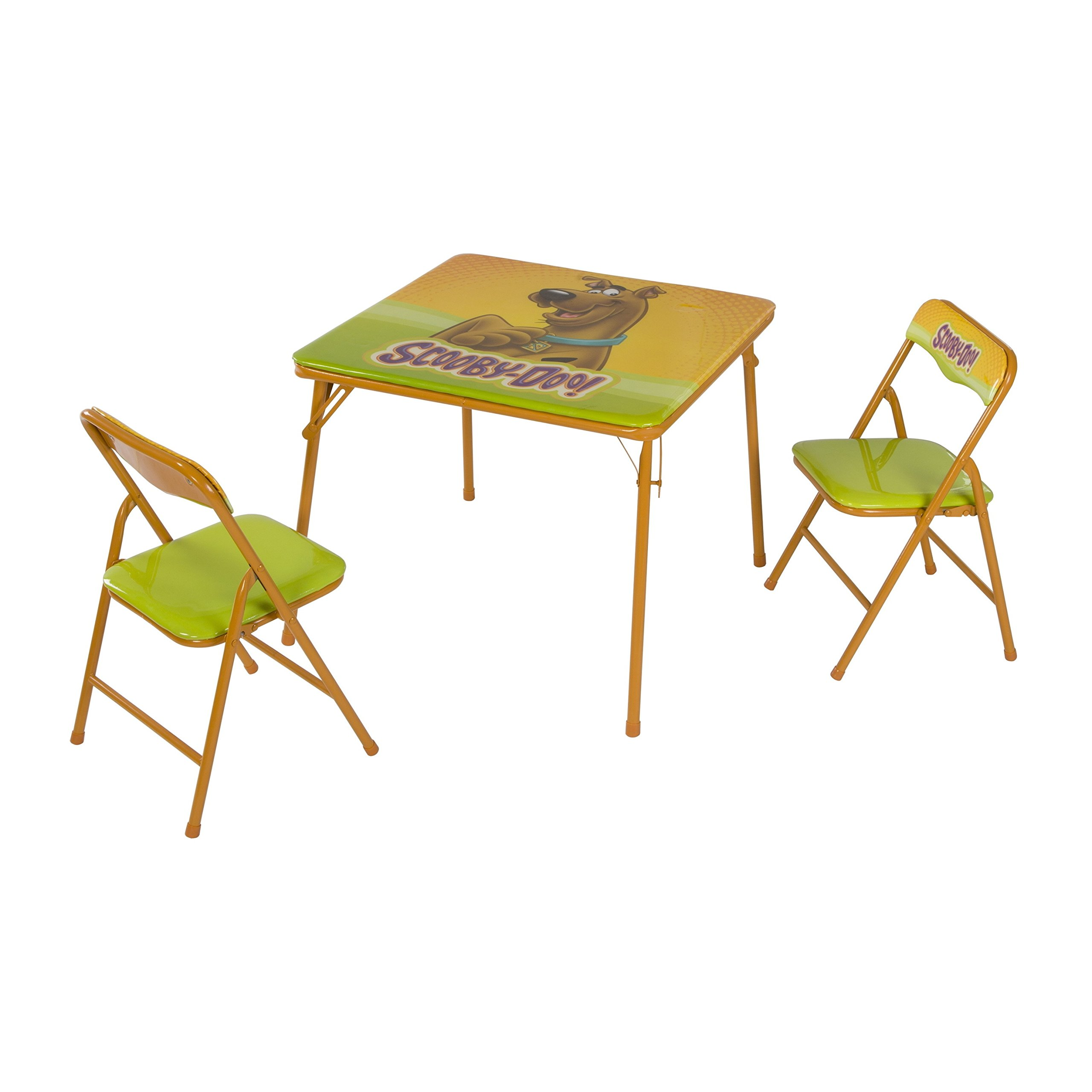 O'Kids Scooby Doo Metal Activity Table and Chair Set