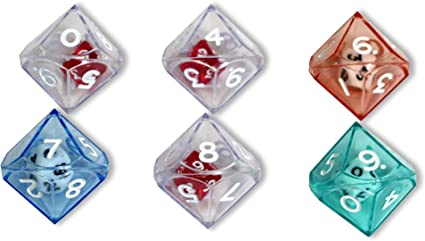 10 Sided Double Dice