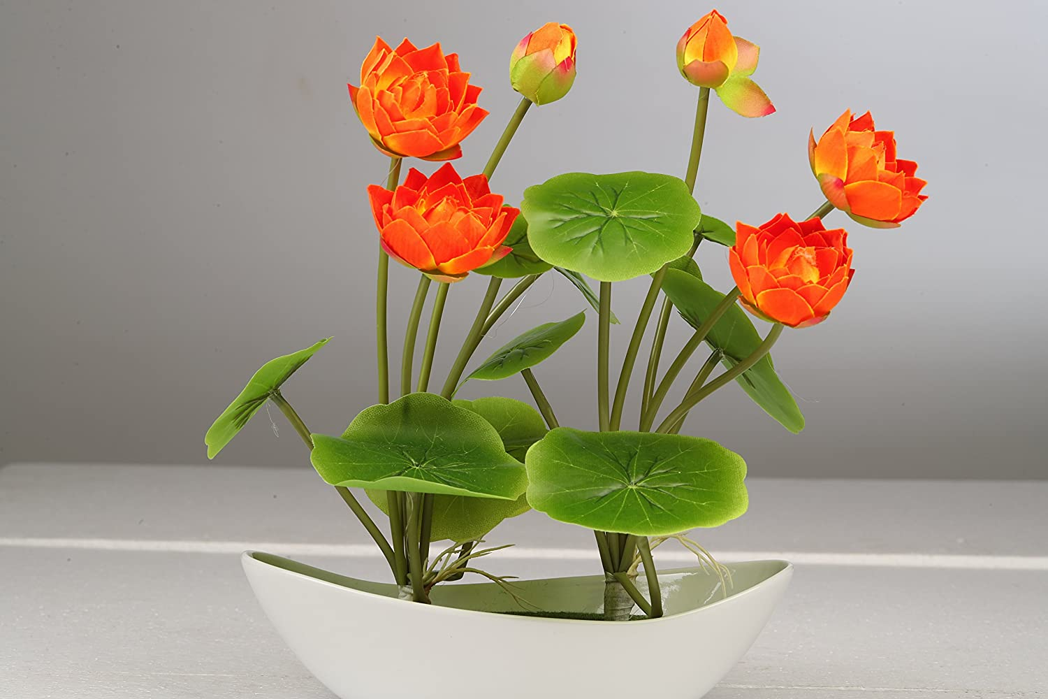 Buy Daytoday Artificial Flowers For Decoration Lotus Flower With