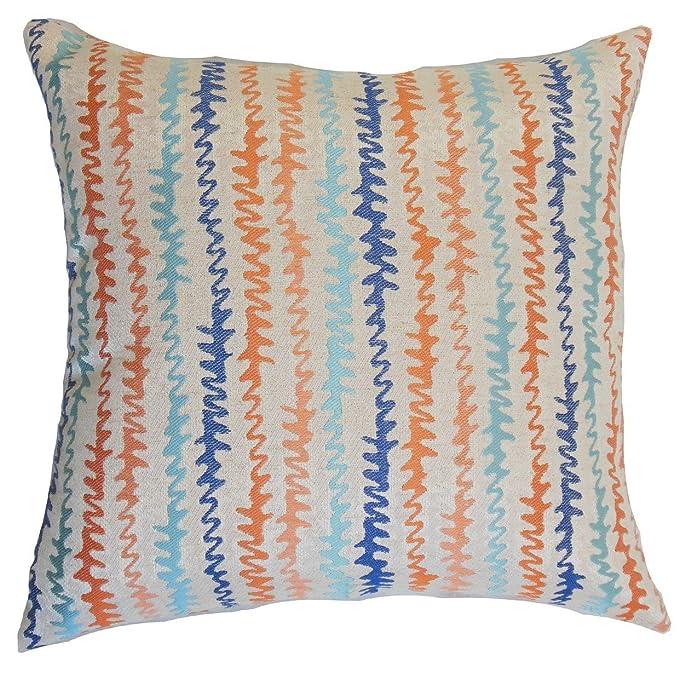 La Almohada Collection Malu cojín, diseño de Zigzag, Color ...