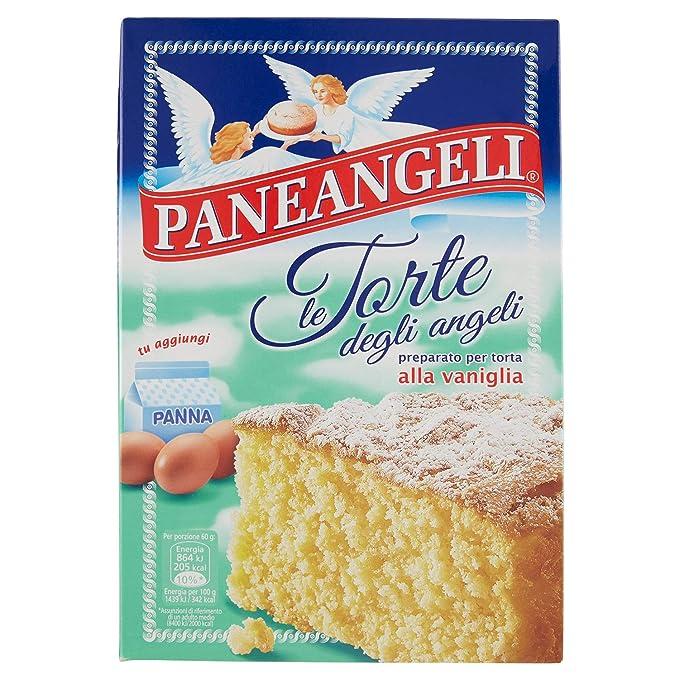 panea ngeli torta Degli Angeli VANIGLIA Vainilla tartas mezcla 415 g
