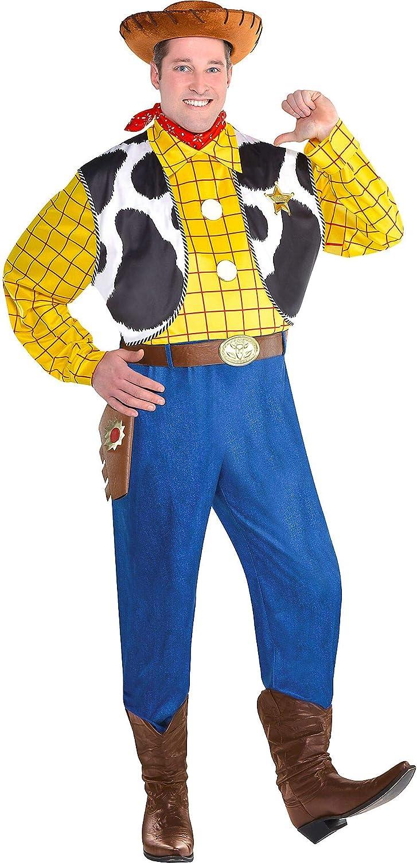 Party City Woody disfraz de Halloween para hombres, Toy Story 4 ...