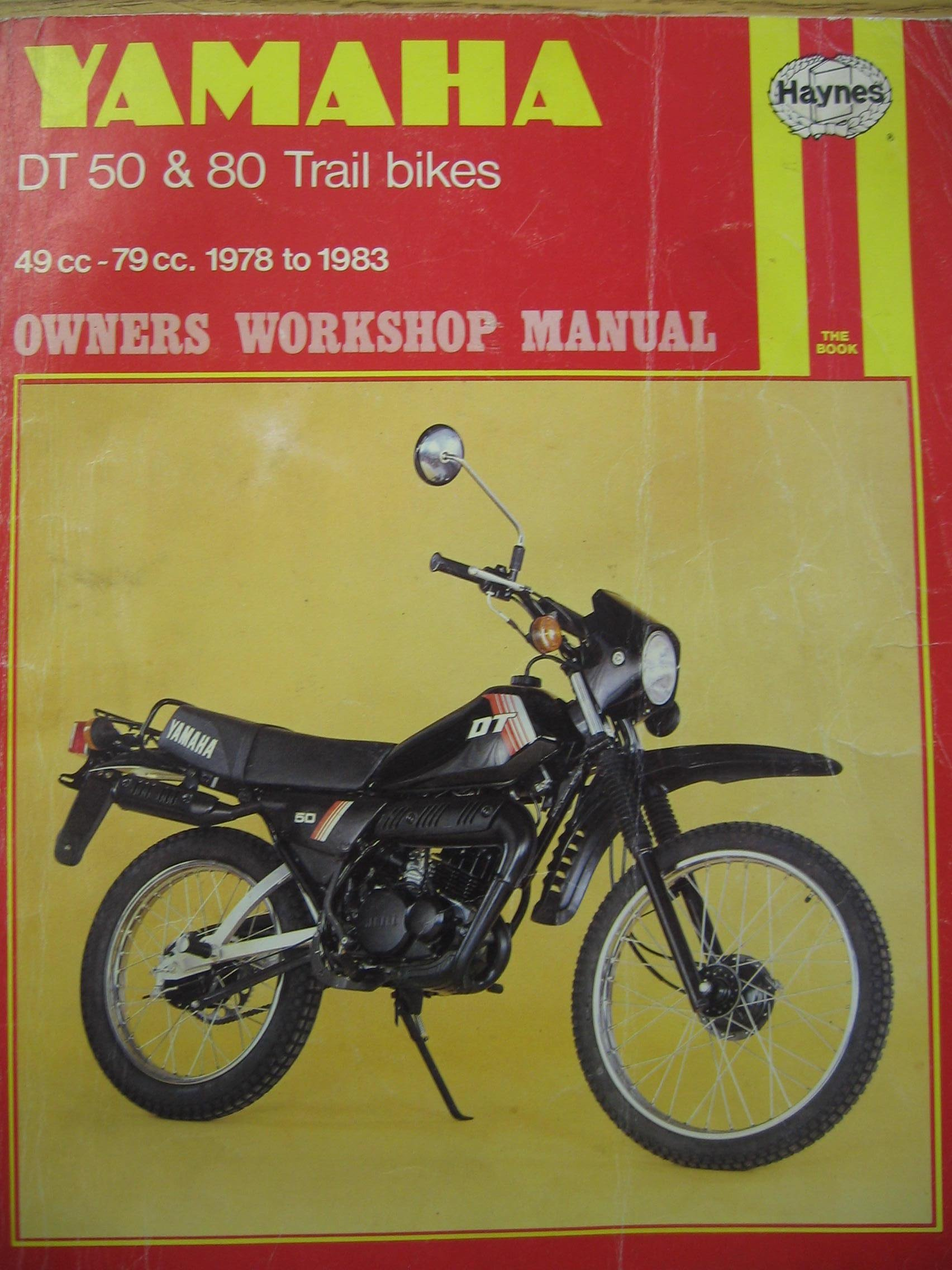 Yamaha DT50 and 80 Trail Bikes Owner's Workshop Manual: Chris Rogers:  9780856968006: Amazon.com: Books
