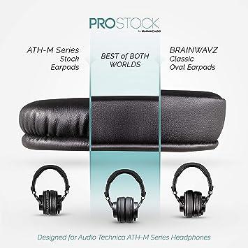 Brainwavz Sheepskin ProStock ATH M50X Upgraded Earpads