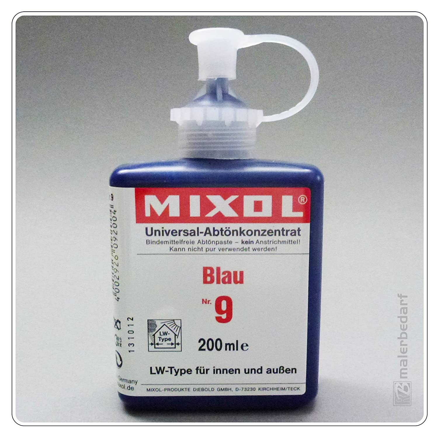 Mixol : Universal Stainer : 200 ml : Blue