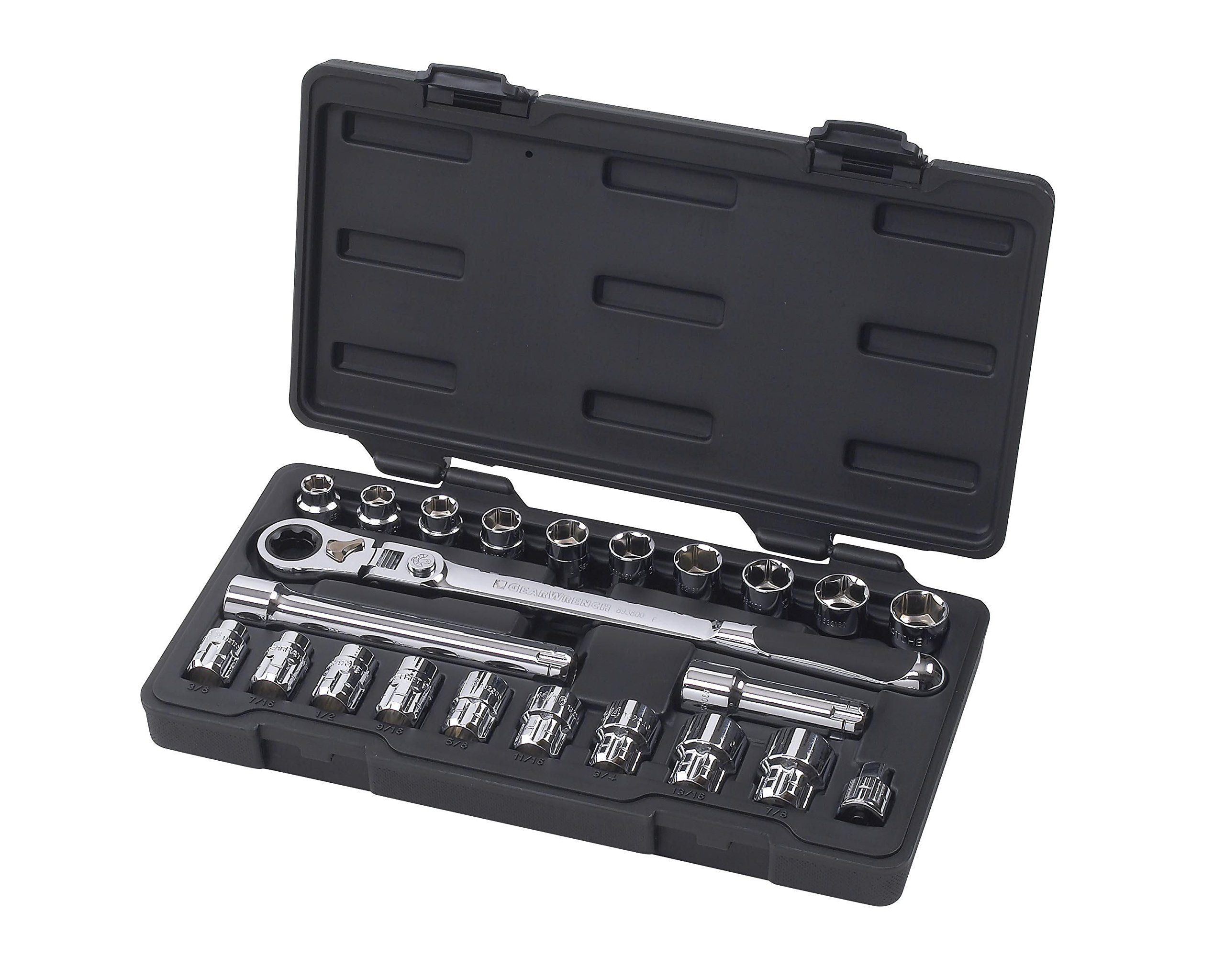 GearWrench (893823) 20mm 3/8'' Drive 23-Piece Ratchet Set