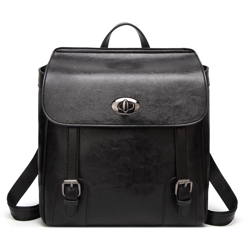 Women Backpack Purse,ACLULION Ladies PU Leather Shoulder Bag Lightweight School Bag for Girls