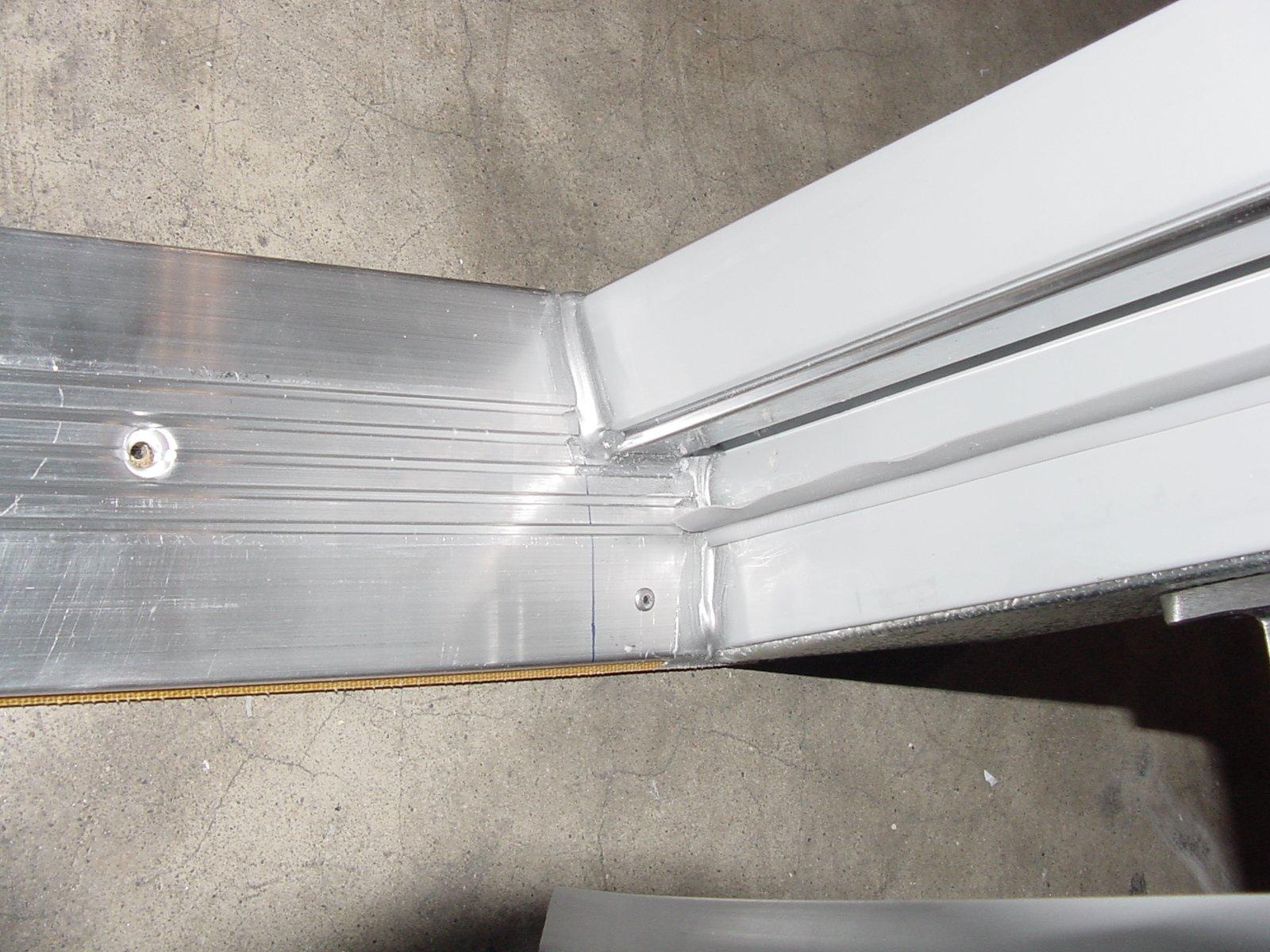 DOOR THRESHOLD - 36-3/4in Length - Aluminum