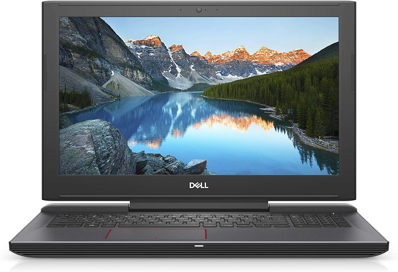 2020 Premium Dell G5 15.6 Inch FHD Gaming Laptop (Intel Core i7 up to 4.1 GHz, 16GB DDR4 RAM, 256GB SSD + 1TB HDD, Nvidia GTX 1050TI, Backlit Keyboard, WiFi, Bluetooth, HDMI, Windows 10) (Black)