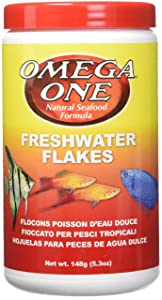 OMEGA One Freshwater Flake 5.3oz, Yellow