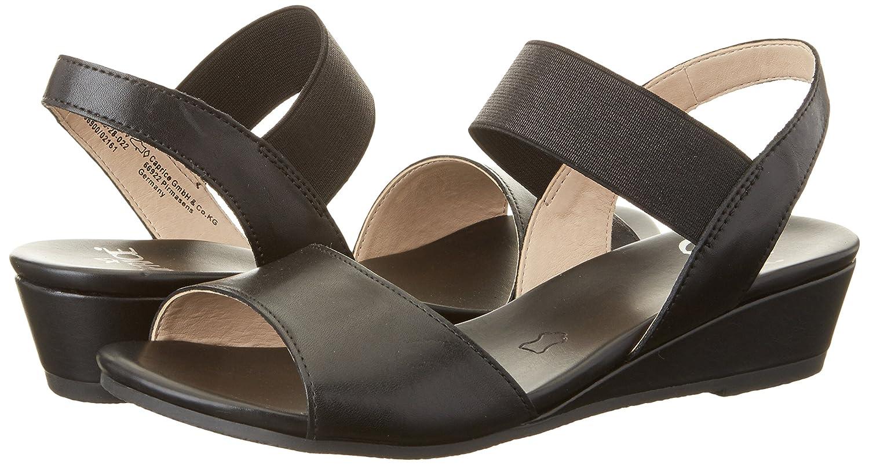 brand new 4d38f fc904 Caprice Footwear Women's 28209 Wedge Heels Sandals