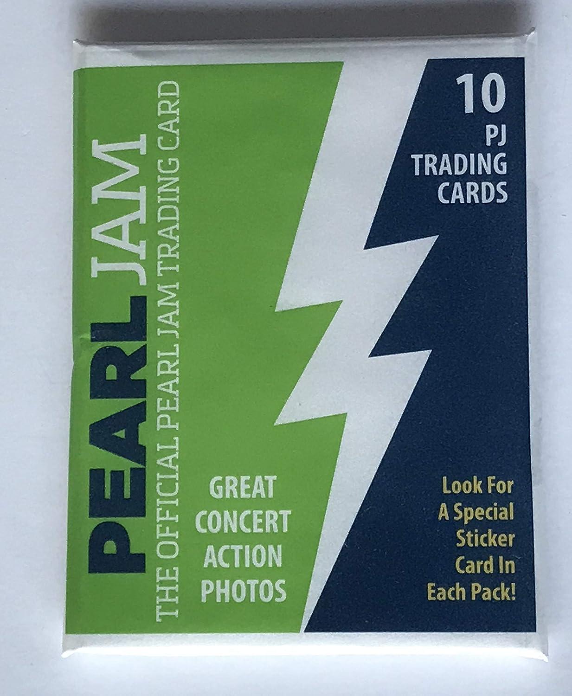 Amazoncom Pearl Jam Seattle Baseball Card Pack 2018