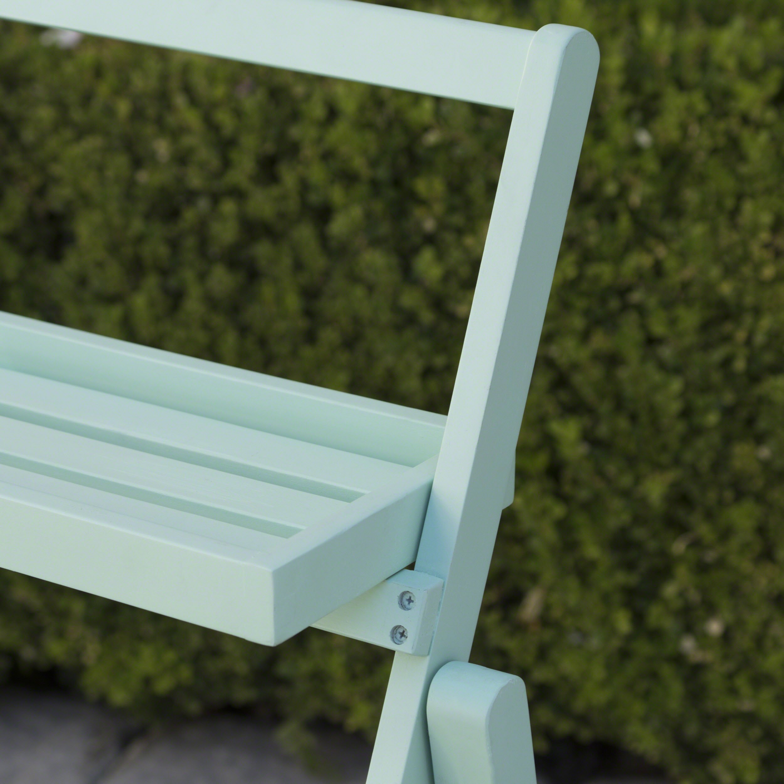Topside Outdoor Light Mint Acacia Wood Plant Stand by Great Deal Furniture (Image #3)