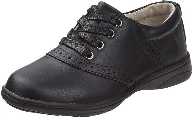 Laura Ashley Girls' Lace Up School Uniform Saddle Shoes (Little Kid/Big Kid)