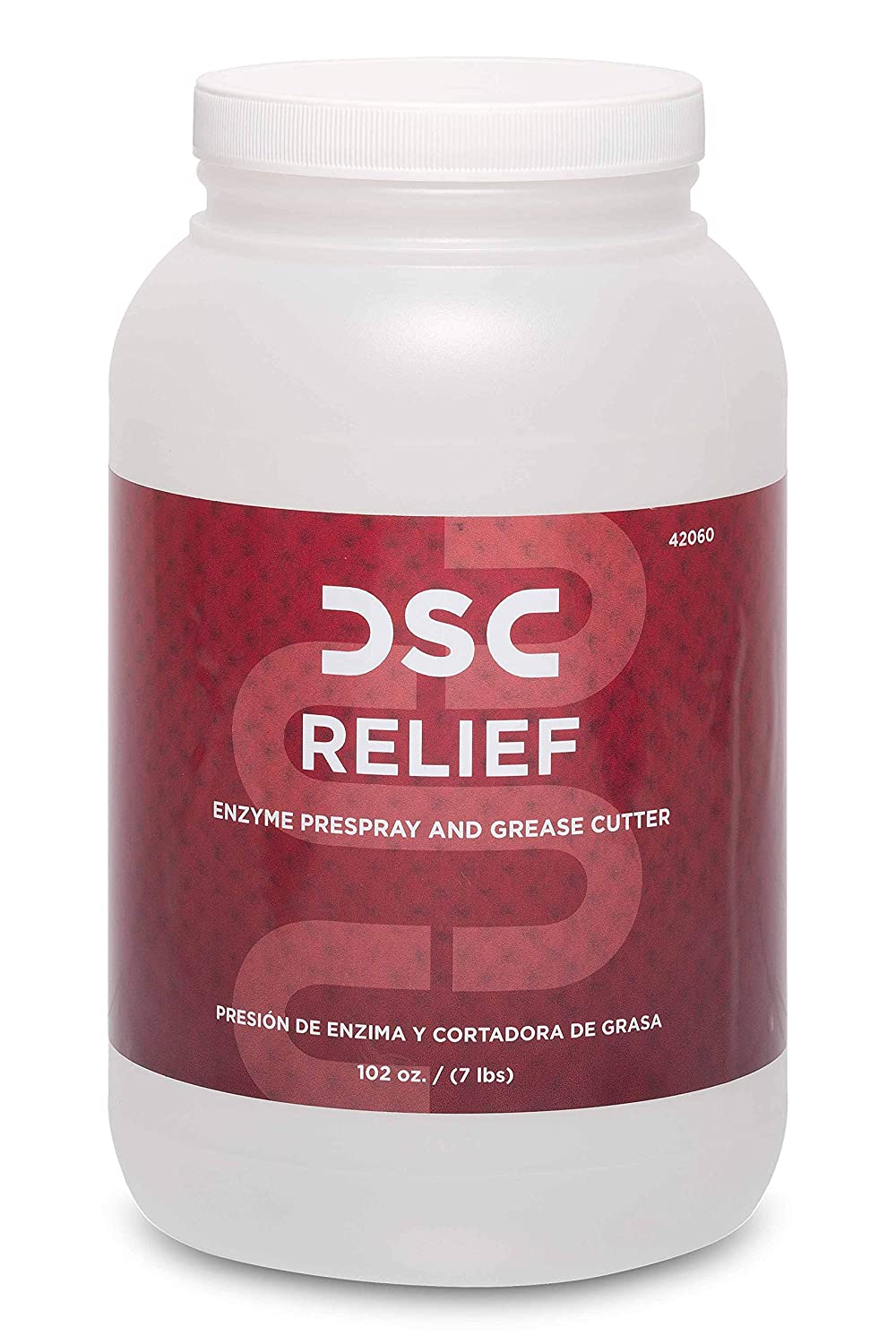 Amazon.com: DSC Relief - Powdered Enzyme Prespray and Grease Cutter ...