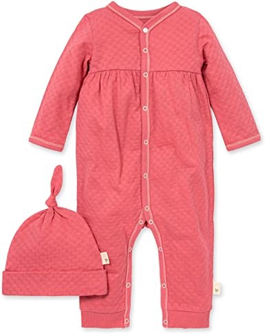 Baby Girls Romper Jumpsuit Burts Bees Baby 100/% Organic Cotton One-Piece Coverall
