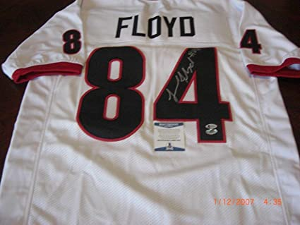 official photos 6f24b fec46 Leonard Floyd Autographed Jersey - bears First Class Sports ...
