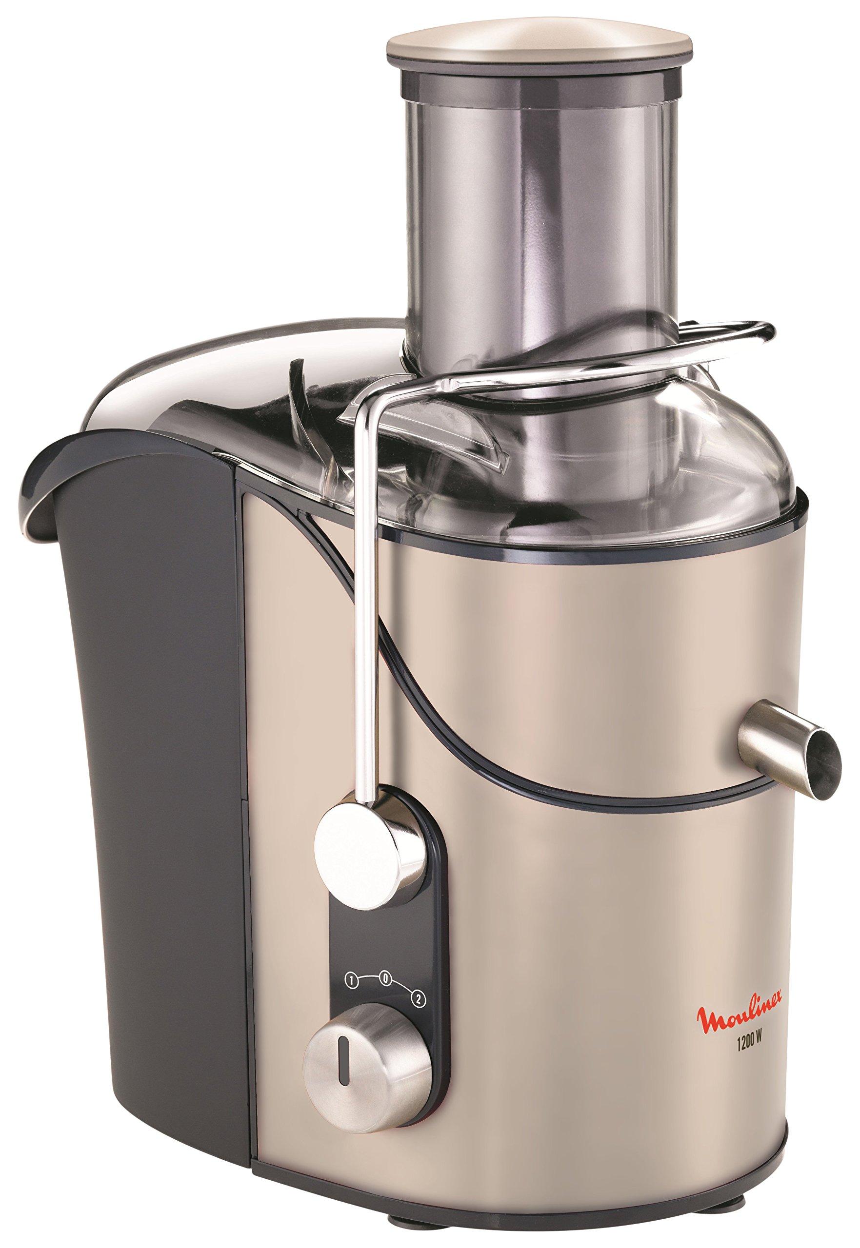 Moulinex JU655H10 Exprimidor de 1200 W, Acero Inoxidable, Gris/Plata product image